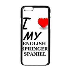 Eng Spr Sp Love Apple iPhone 6/6S Black Enamel Case