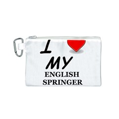 Eng Spr Sp Love Canvas Cosmetic Bag (S)