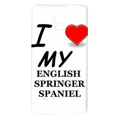 Eng Spr Sp Love Galaxy Note 4 Back Case