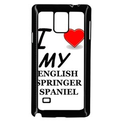 Eng Spr Sp Love Samsung Galaxy Note 4 Case (Black)