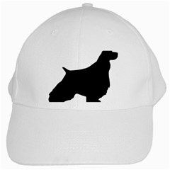 English Springer Spaniel Silo Black White Cap