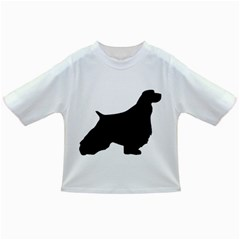 English Springer Spaniel Silo Black Infant/Toddler T-Shirts