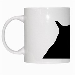 English Springer Spaniel Silo Black White Mugs