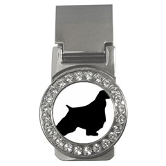 English Springer Spaniel Silo Black Money Clips (CZ)