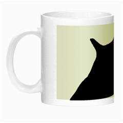 English Springer Spaniel Silo Black Night Luminous Mugs