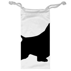 English Springer Spaniel Silo Black Jewelry Bag