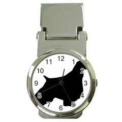 English Springer Spaniel Silo Black Money Clip Watches