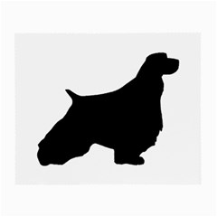 English Springer Spaniel Silo Black Small Glasses Cloth (2-Side)