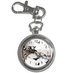 Birds Crows Black Ravens Wing Key Chain Watches