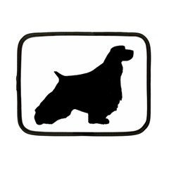 English Springer Spaniel Silo Black Netbook Case (Small)