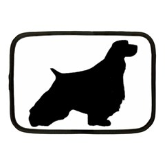 English Springer Spaniel Silo Black Netbook Case (Medium)