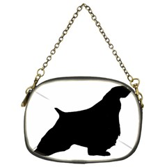 English Springer Spaniel Silo Black Chain Purses (One Side)