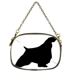 English Springer Spaniel Silo Black Chain Purses (Two Sides)