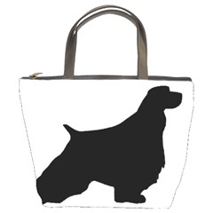 English Springer Spaniel Silo Black Bucket Bags