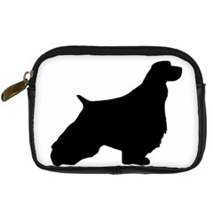 English Springer Spaniel Silo Black Digital Camera Cases