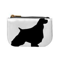 English Springer Spaniel Silo Black Mini Coin Purses