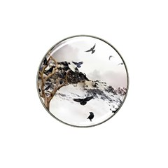 Birds Crows Black Ravens Wing Hat Clip Ball Marker