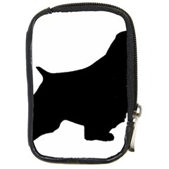 English Springer Spaniel Silo Black Compact Camera Cases