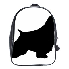 English Springer Spaniel Silo Black School Bags(Large)