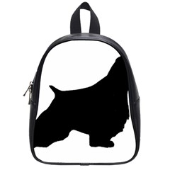 English Springer Spaniel Silo Black School Bags (Small)