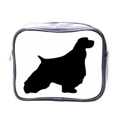 English Springer Spaniel Silo Black Mini Toiletries Bags