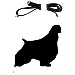 English Springer Spaniel Silo Black Shoulder Sling Bags