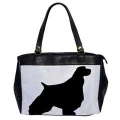 English Springer Spaniel Silo Black Office Handbags