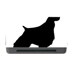 English Springer Spaniel Silo Black Memory Card Reader with CF