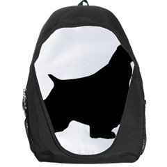 English Springer Spaniel Silo Black Backpack Bag