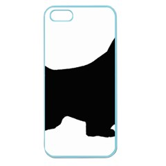 English Springer Spaniel Silo Black Apple Seamless iPhone 5 Case (Color)
