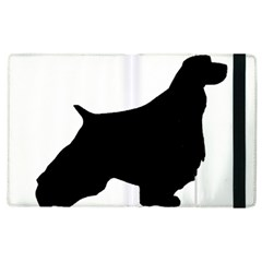 English Springer Spaniel Silo Black Apple iPad 3/4 Flip Case