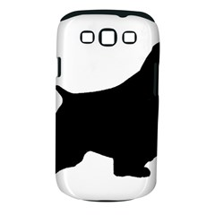 English Springer Spaniel Silo Black Samsung Galaxy S III Classic Hardshell Case (PC+Silicone)