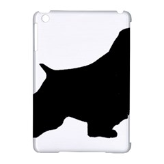 English Springer Spaniel Silo Black Apple iPad Mini Hardshell Case (Compatible with Smart Cover)
