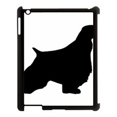 English Springer Spaniel Silo Black Apple iPad 3/4 Case (Black)