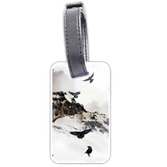 Birds Crows Black Ravens Wing Luggage Tags (two Sides)