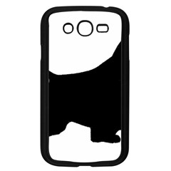 English Springer Spaniel Silo Black Samsung Galaxy Grand DUOS I9082 Case (Black)