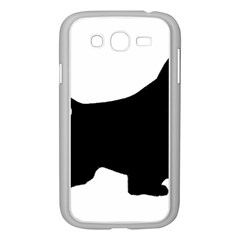 English Springer Spaniel Silo Black Samsung Galaxy Grand DUOS I9082 Case (White)