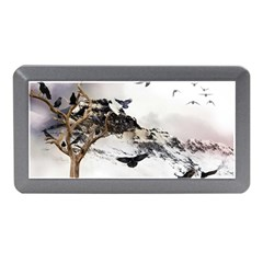 Birds Crows Black Ravens Wing Memory Card Reader (Mini)