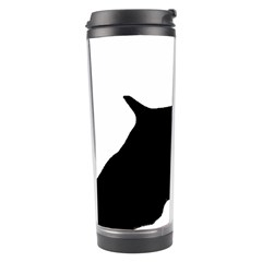 English Springer Spaniel Silo Black Travel Tumbler