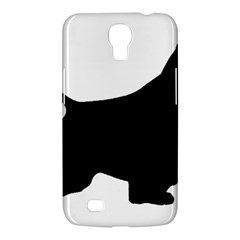 English Springer Spaniel Silo Black Samsung Galaxy Mega 6.3  I9200 Hardshell Case