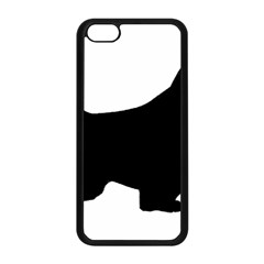 English Springer Spaniel Silo Black Apple iPhone 5C Seamless Case (Black)