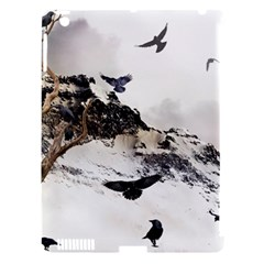 Birds Crows Black Ravens Wing Apple Ipad 3/4 Hardshell Case (compatible With Smart Cover)