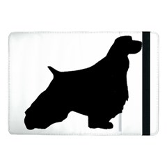 English Springer Spaniel Silo Black Samsung Galaxy Tab Pro 10.1  Flip Case
