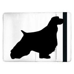 English Springer Spaniel Silo Black Samsung Galaxy Tab Pro 12.2  Flip Case