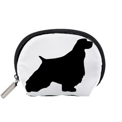 English Springer Spaniel Silo Black Accessory Pouches (Small)