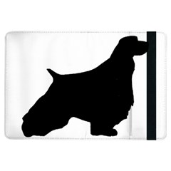 English Springer Spaniel Silo Black iPad Air Flip
