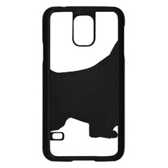 English Springer Spaniel Silo Black Samsung Galaxy S5 Case (Black)