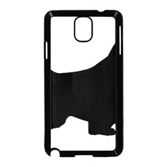 English Springer Spaniel Silo Black Samsung Galaxy Note 3 Neo Hardshell Case (Black)