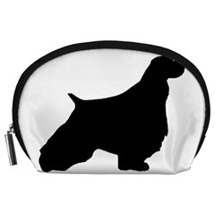 English Springer Spaniel Silo Black Accessory Pouches (Large)
