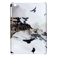 Birds Crows Black Ravens Wing Apple Ipad Mini Hardshell Case